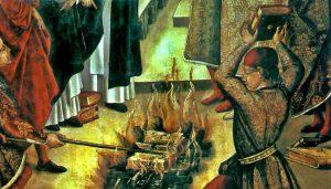 El 12 de agosto de 1553, el papa Julio III mandó confiscar y quemar todos los ejemplares del Talmud en Italia, el decreto se ejecutó el 9 de septiembre