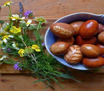 Receta del día: Beid hamine o Huevos haminados