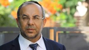 Yaakov Avitan, ministro de Servicios Religiosos de Israel