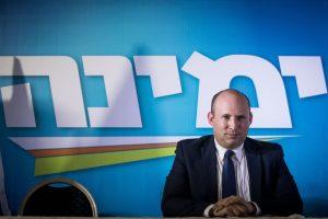 Naftali Bennett, líder del partido Yamina de Israel