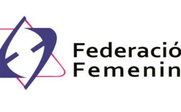 Logotipo de la Federación femenina de la CJM