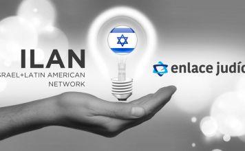 ILAN. Un foco con la bandera de Israel dentro de una mano