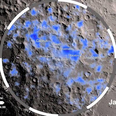 La NASA confirma que hay agua en la luna y los astronautas podrían usarla