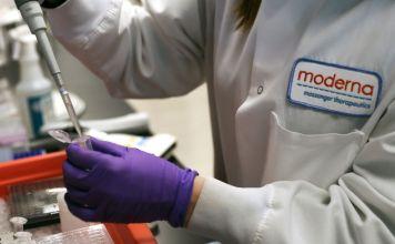 Ensayo clínico de Moderna de su vacuna anti covid-19
