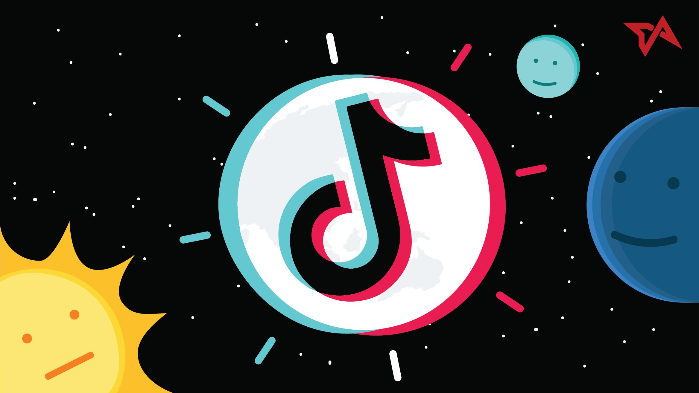 Logotipo de la plataforma de videos breves TikTok