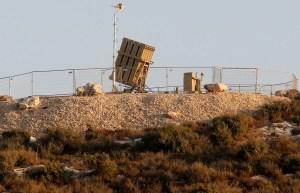 Despliegue de la Cúpula de Hierro en el sur de Israel