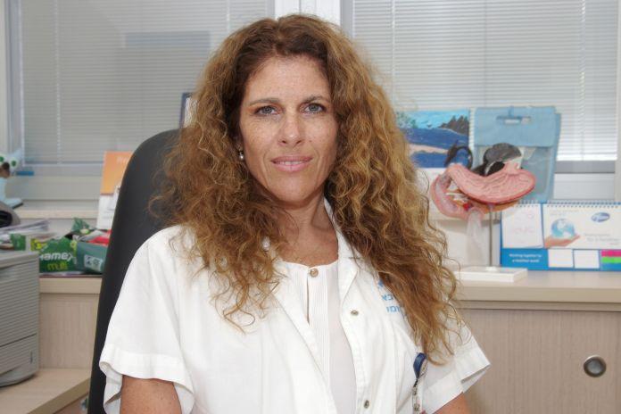 Fotografía de la doctora israelí Gabriella Lieberman