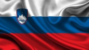 Ilustración de la bandera de Eslovenia