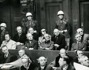 Acusados en los Juicios de Núremberg