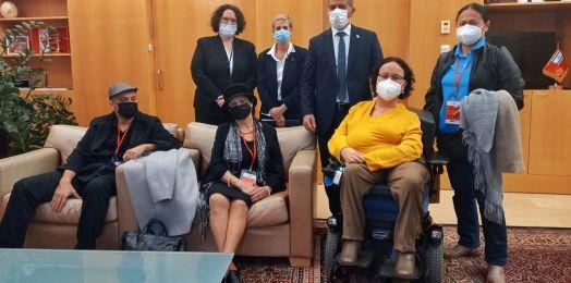 Por primera vez llega una israelí al Comité sobre los Derechos de las Personas con Discapacidad de la ONU