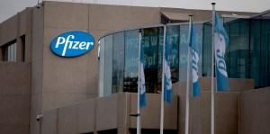 Sede de la farmacéutica Pfizer en Bélgica