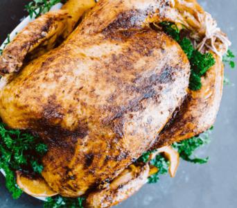 Receta del día: El mejor pavo kosher para Día de Gracias