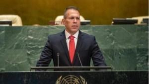 Embajador de Israel ante la ONU, Gilad Erdan