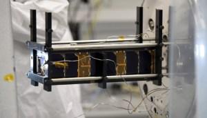 nanosatelite desarrollado por la Universidad de Tel Aviv