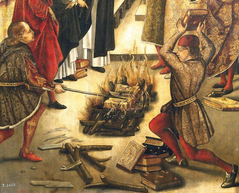 quema del Talmud en Polonia
