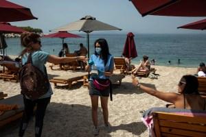 Turistas es una playa de Israel