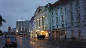 Calle de la ciudad de Viena, en Austria