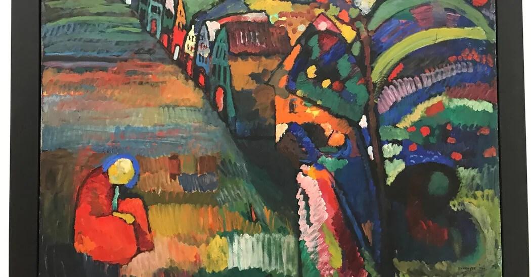 Un tribunal holandés rechazó un caso de restitución presentado por herederos de una familia judía que originalmente poseía una pintura de Wassily Kandinsky