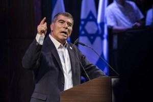 El canciller de Israel, Gabi Ashkenazi