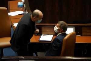 Legisladores del partido Kajol Laván