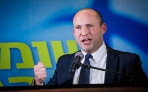 Naftali Bennett, jefe del partido Yamina de Israel