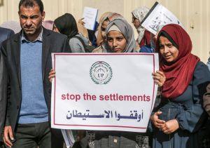 """Legalizar 65 asentamientos en Judea y Samaria que pasó lectura en la Knéset es un """"crimen de guerra"""" dijo el primer ministro Palestino"""