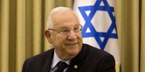 El presidente israelí Reuven Rivlin