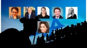 Ilustración con imágenes de periodistas judíos