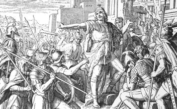 Yonatán sacó fuerzas de su fe en el Creador, se levantó de su duelo, removió las cenizas de su cabeza y decidió que la rebelión debía continuar