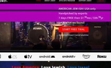 jewzy.tv el primer servicio de streaming judío de Europa