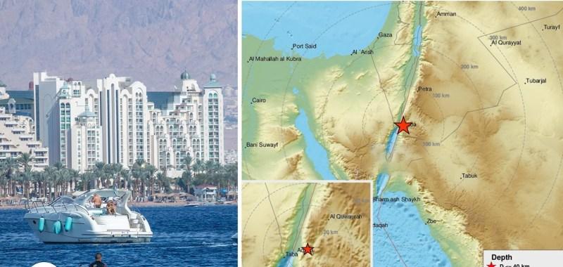 Un terremoto de magnitud 3.8 se produjo la madrugada del martes cerca de la ciudad turística de Eilat en el Mar Rojo, según el Servicio Geológico de Israel