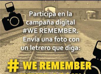 """""""Día Internacional de Conmemoración de las Víctimas del Holocausto"""". El pasado nunca se olvidará"""