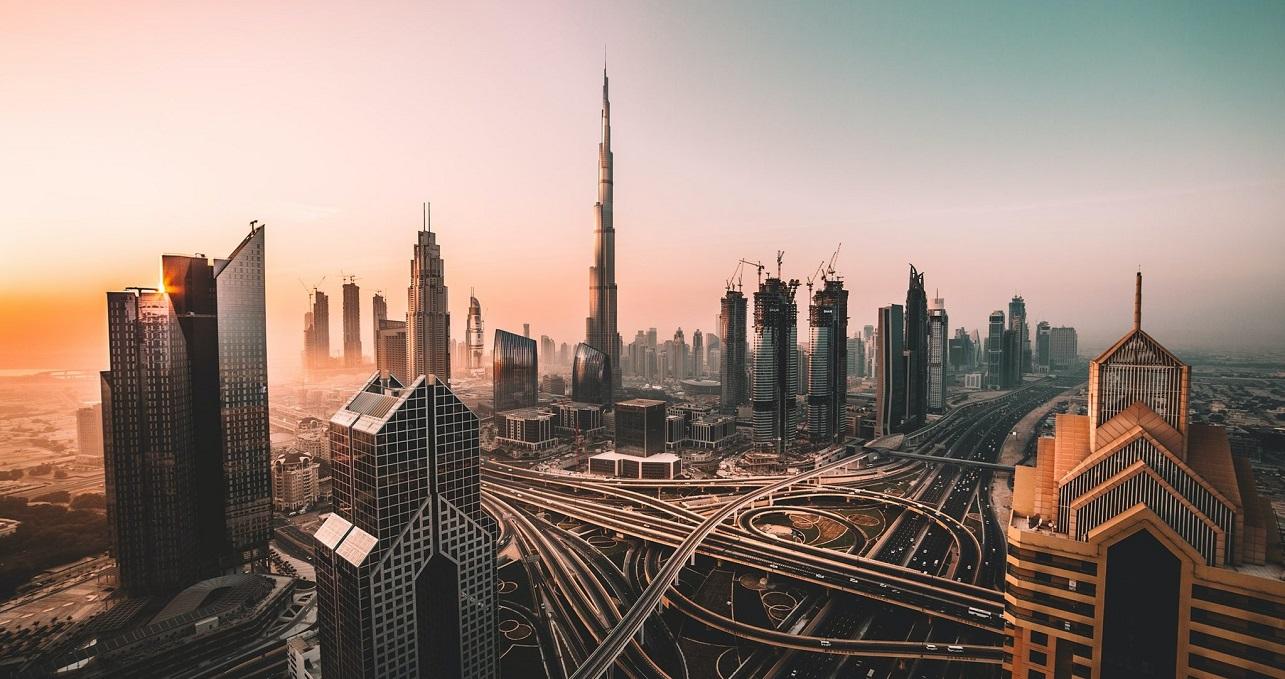 Panorama de la ciudad de Dubái