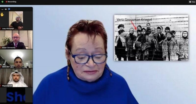 La sobreviviente del Holocausto Vera Kriegel Grossman