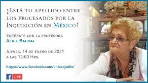 ¿Está tu apellido entre los procesados por la Inquisición en México?