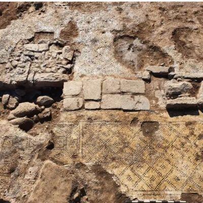 """Israel: Hallan inscripción de hace 1,500 años que dice """"Cristo, nacido de María"""""""