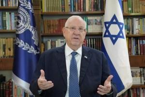 Presidente de Israel, Reuven Rivlin sobre democracia