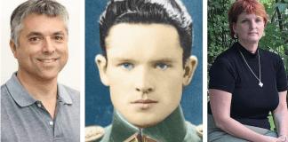 El abuelo de Silvia Foti mató a la familia entera de grant Gochin. Ambos piden a Lituania asumir su responsabilidad