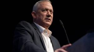 Ministro de Defensa de Israel Benny Gantz-general
