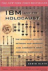 tarjeta perforada de IBM como portada de un libro