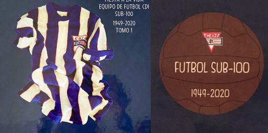 Nadia Cattan/ Se estrena libro de recuerdos del futbol del CDI