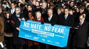Una encuesta de la Liga Antidifamación (ADL) encontró que 1 de cada 4 judíos estadounidenses han experimentado personalmente el antisemitismo