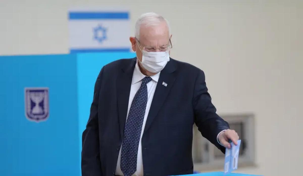 Presidente de Israel, Reuven Rivlin-reuniones con líderes de partidos
