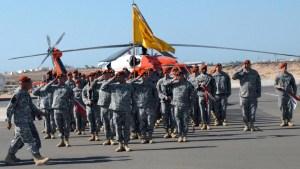 Fuerzas de paz en el Sinaí