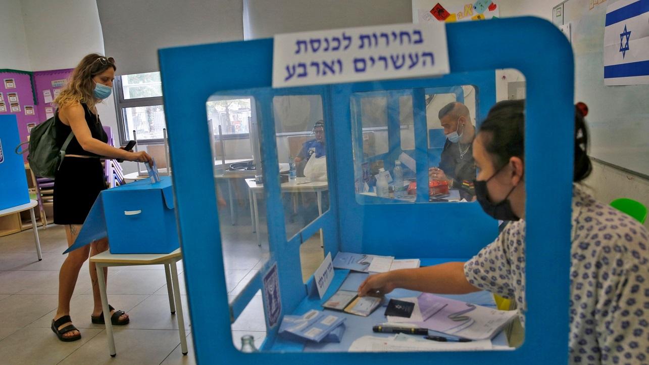 Urna de votación en Israel