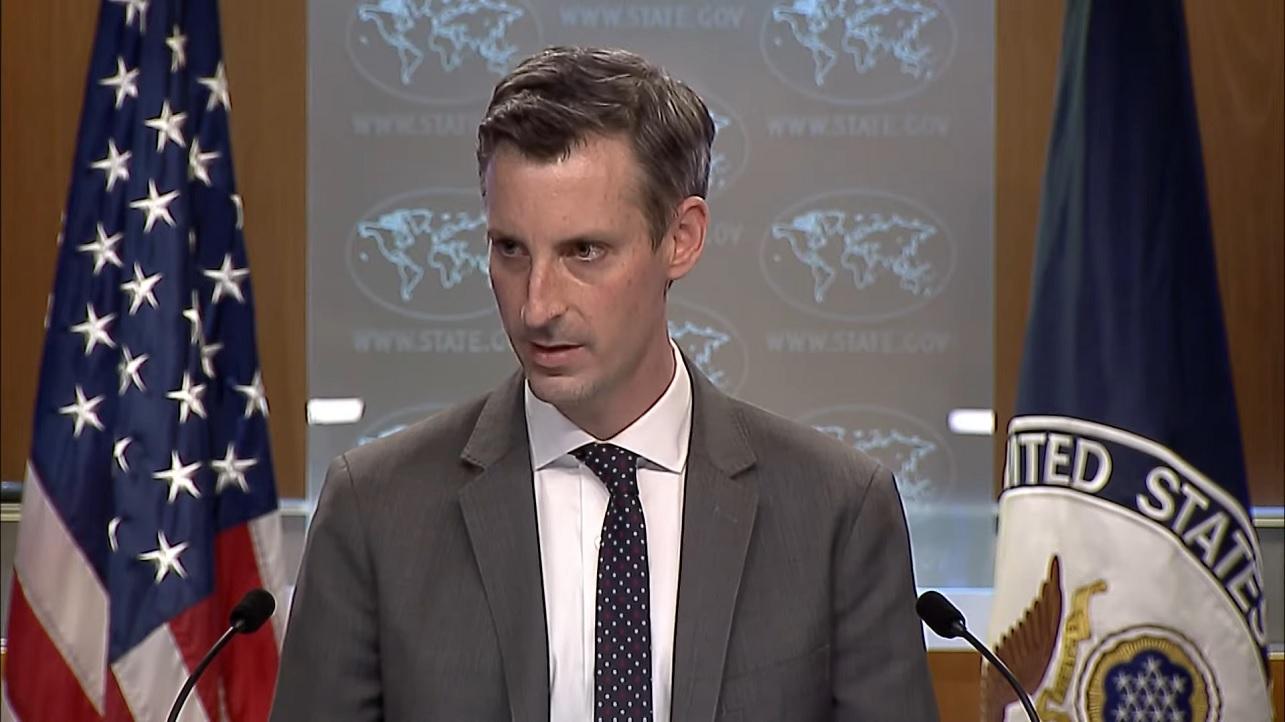 Ned Price, vocero del Departamento de Estado de EE. UU.