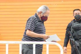 Primera jornada de vacunación en Huixquilucan, Estado de México, para adultos mayores de 60 años