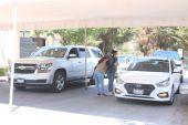 Sede de vacunación ubicada en la Universidad Anáhuac en Huixquilucan