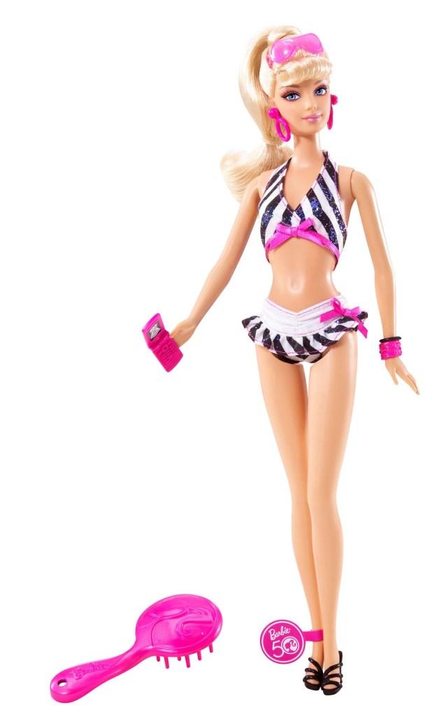 Edición de 50 aniversario de Barbie