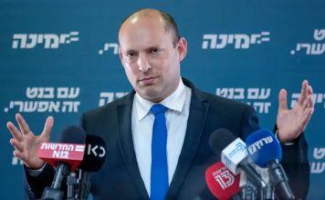 Líder de Yamina, Naftali Bennett-conformación de nuevo gobierno en Israel